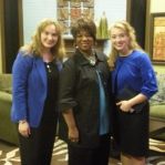 Carrie and Stacie were excited to be with Babbie Mason on her show, Babbie's House