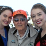 Carrie and Stacie were privileged to meet a true American hero, Col. Bud Day
