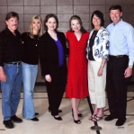 Chuck and Gina Norris, Carrie, Stacie, and Bob and Darla Vander Plaats