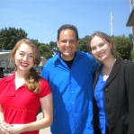 The sisters really enjoyed David Brody when he interviewed them for the Brody File and the 700 Club