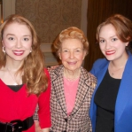Stacie, Phyllis Schlafly, and Carrie in Washington, D.C.