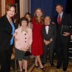 Carrie, Stacie, and Tony Perkins were honored to meet two veterans (married 67 years) who both served in WWII